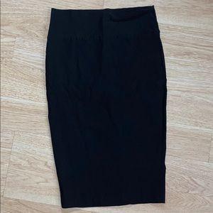 Windsor size Small Black Pencil Skirt- knee length